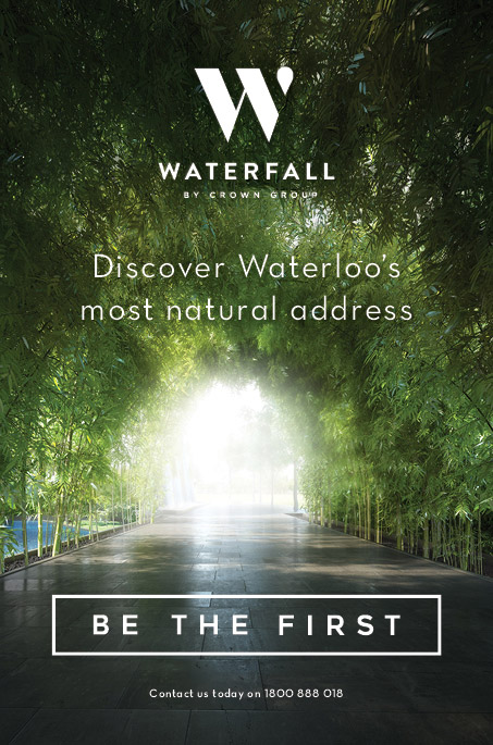 WATERFALL by Crown Group - Discover Waterloo's most natural address // Be the First // Contact us today on 1800 888 018