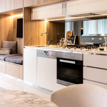 high-end modern kitchen appliances