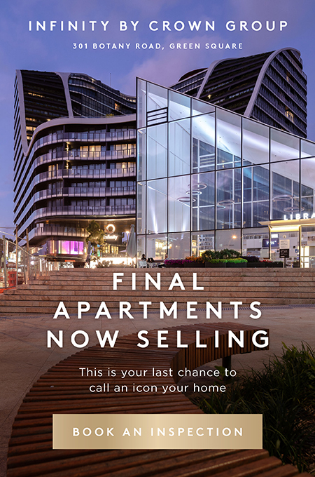 Infinity by Crown Group / Final apartments now selling - book an inspection