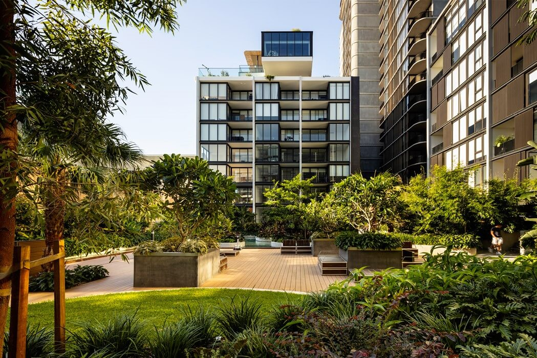 green space at Waterfall by Crown Group